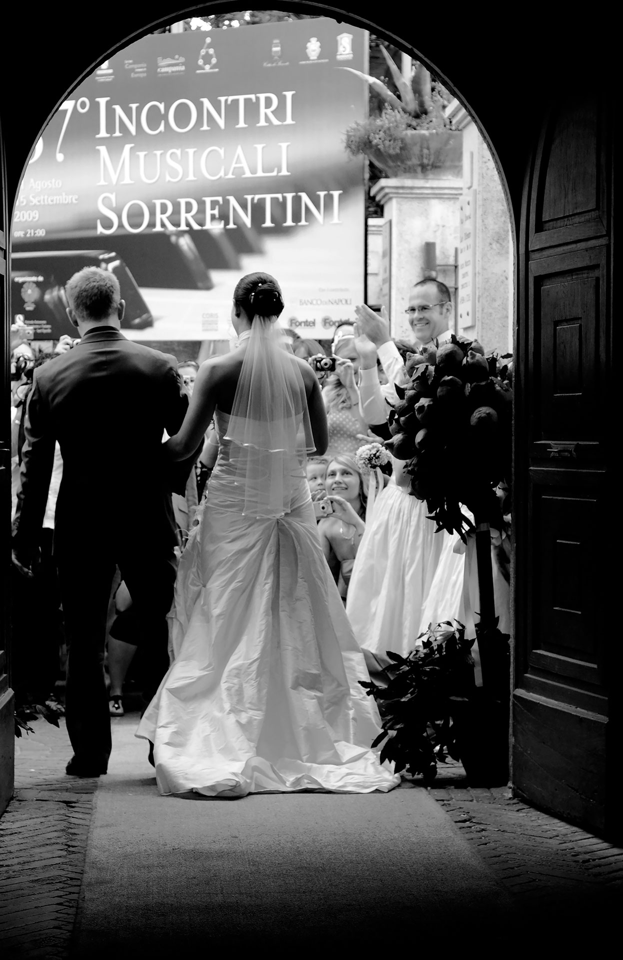 Wedding in Sorrento Private Civil Wedding Chiostro San Francesco by Francese Photography
