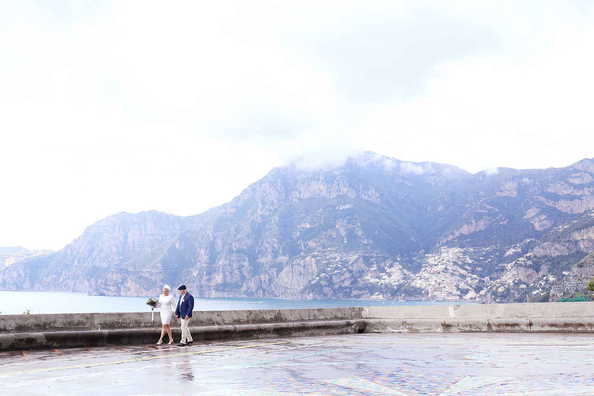 Catholic Wedding San Gennaro Praiano Amalfi Coast by Francese Photography