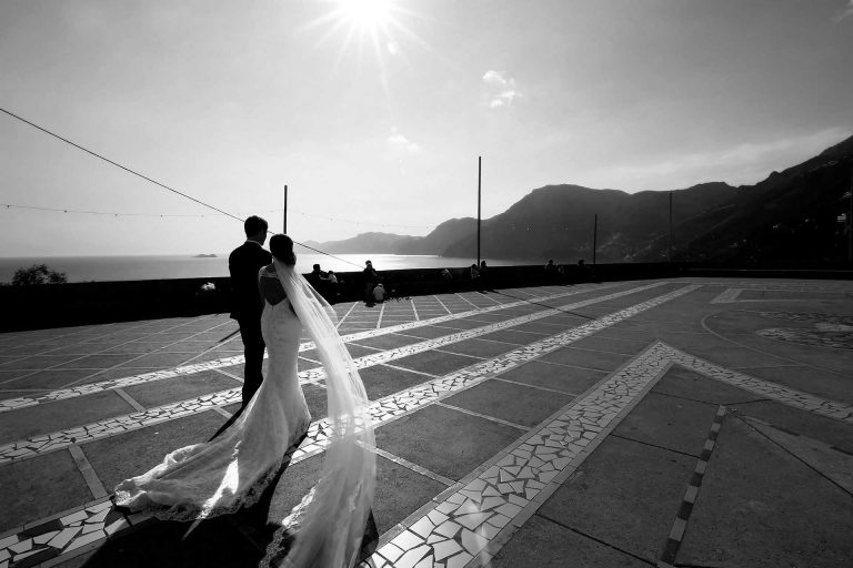 Destination Catholic Church San Gennaro Wedding Praiano Amalfi Coast Italy Reception Hotel Tramonto D Oro Location Claudia Francese Photography Sisters