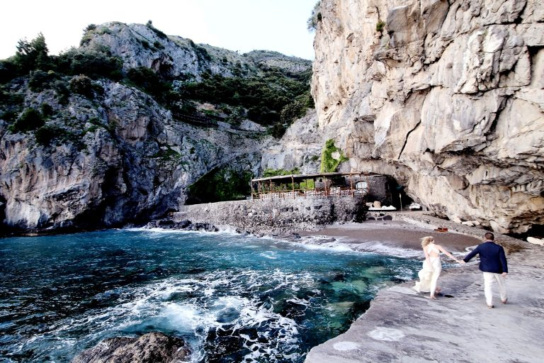 Destination Symbolic Wedding Hotel San Pietro Positano Amalfi Coast Italy Reception Location Claudia Francese Photography