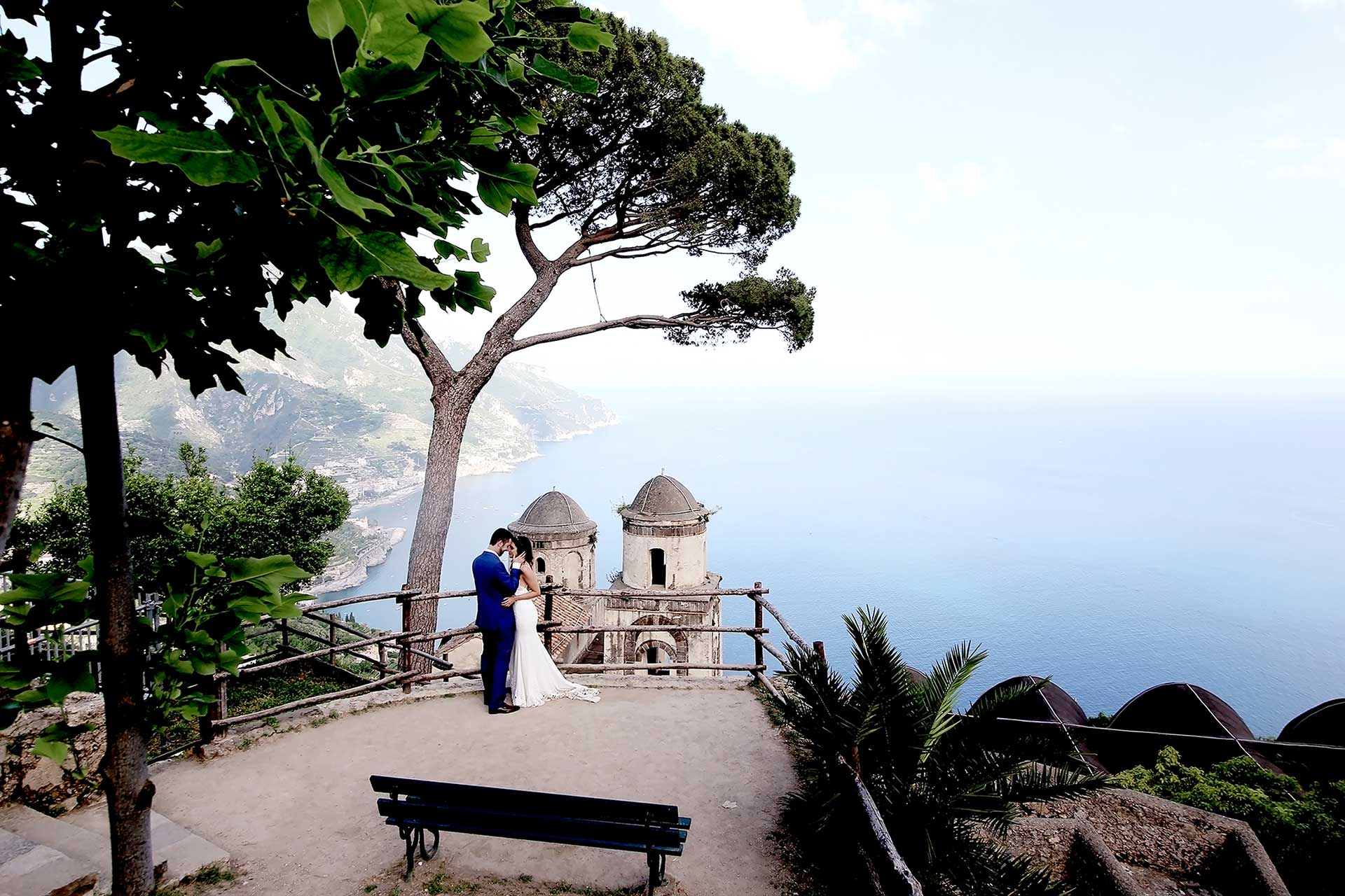 Symbolic Wedding in Ravello Villa Rufolo by Francese Photography