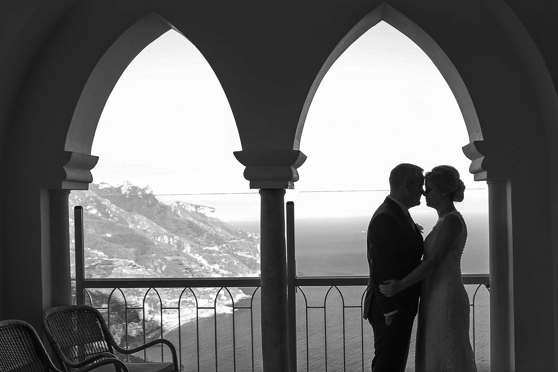 Hotel Caruso the PERFECT location for Wedding according Francese Photography
