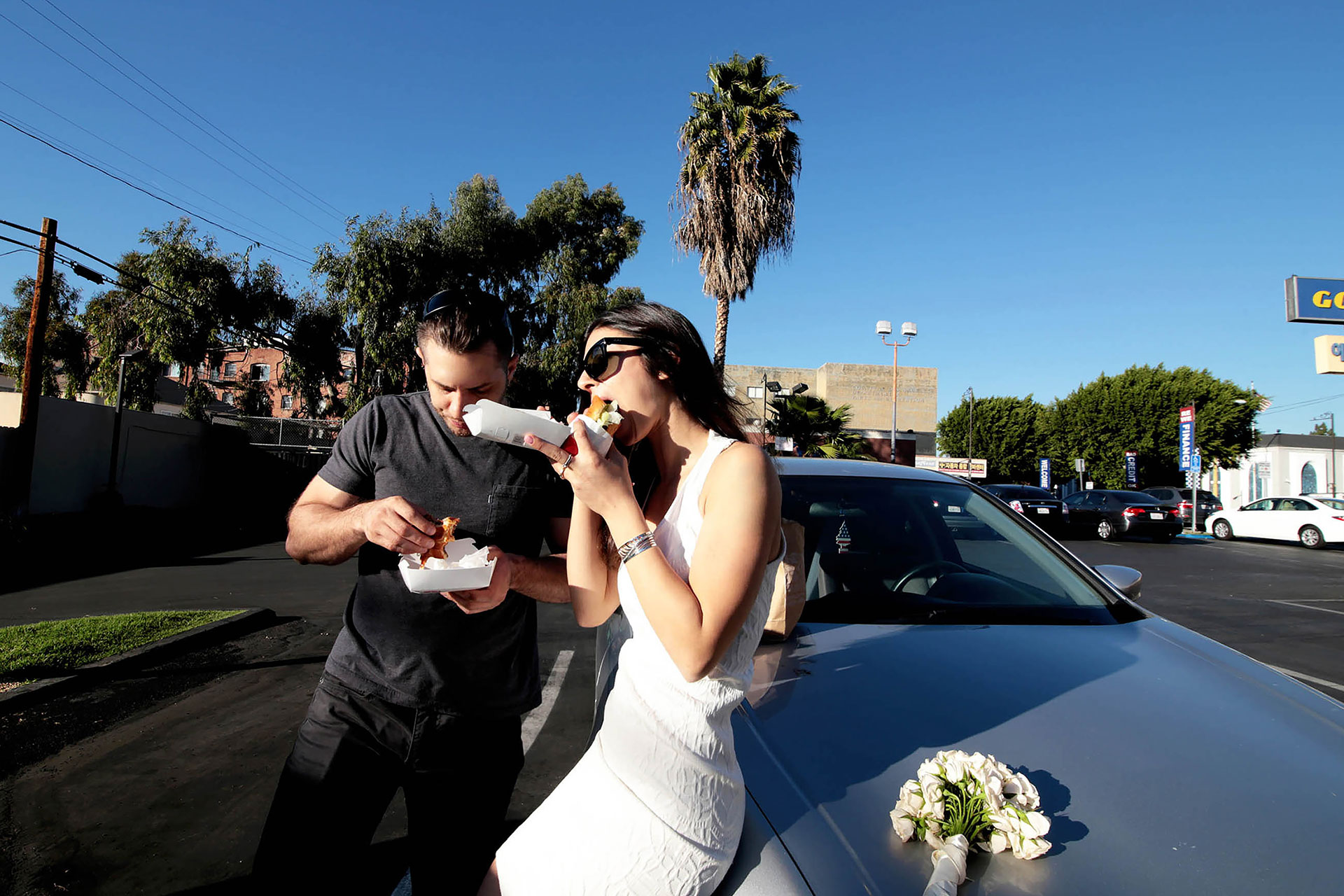 Wedding Photographer in Los Angeles Wedding Photography Lacma Symbolic Wedding Los Angeles Orange County California Claudia Francese Photography