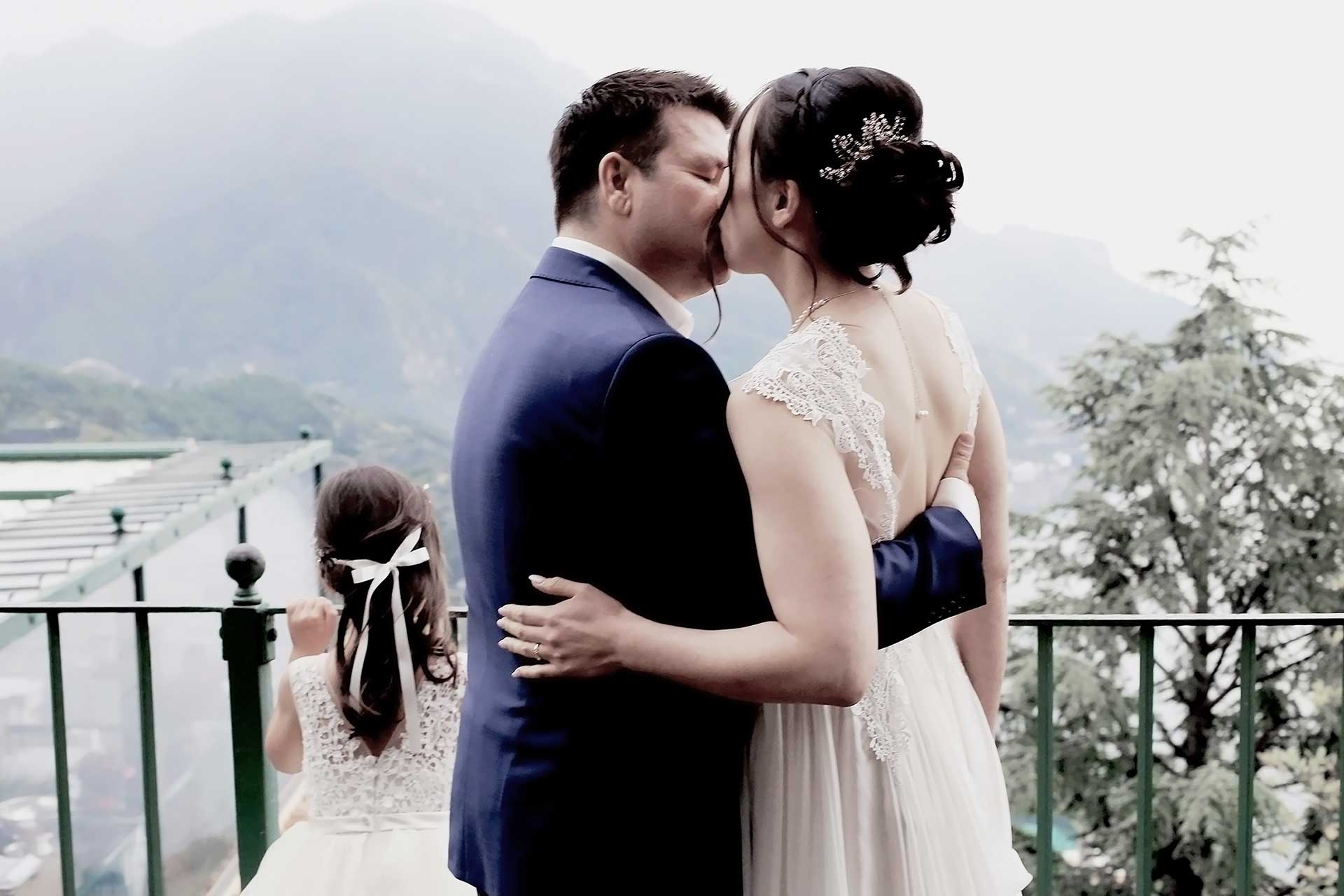 Civil Wedding in Ravello Giardini della Principessa di Piemonte Ravello Hotel Fraulo Terrace Views Reception Location Amalfi Coast Claudia Francese Photography