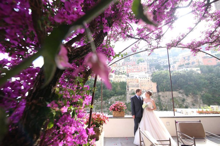 Destination Elopement Symbolic Wedding Photographer Positano Hotel Palazzo Murat Amalfi Coast Italy Claudia Francese Photography Sisters