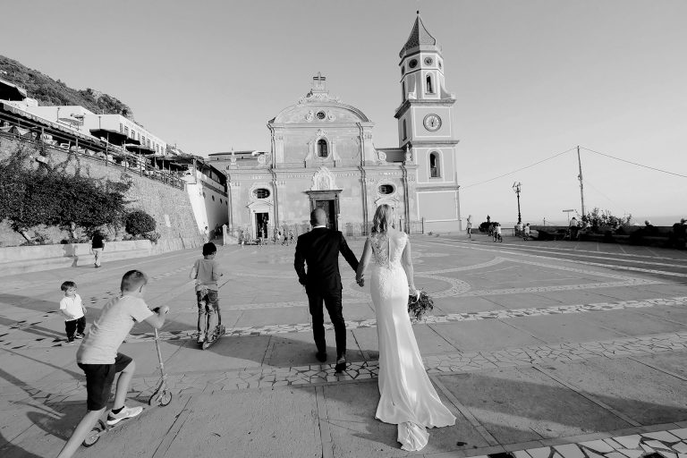 Destination Elopement Wedding Casa Angelina Symbolic Ceremony Praiano Positano Claudia Francese Photography Sisters