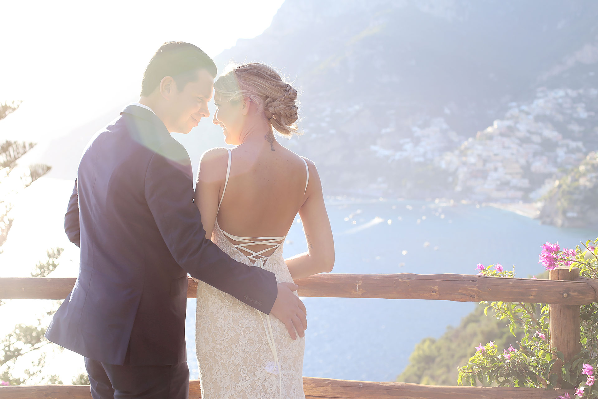 Civil Wedding in Positano Reception Hotel Palazzo Murat by Francese Photography