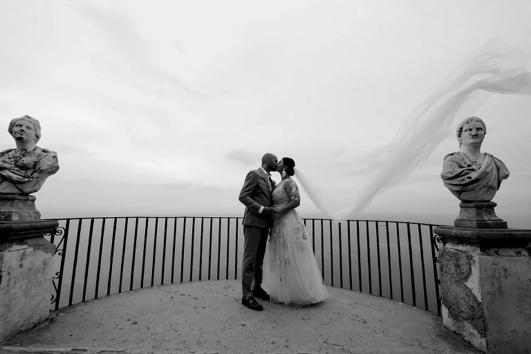 Destination Symbolic Wedding Location Hotel Villa Cimbrone Ravello Amalfi Coast Italy Reception Venues Claudia Francese Photography Sisters