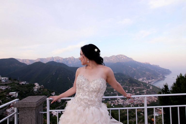 Luxury Catholic Wedding Photographer in Ravello Hotel Rufolo Reception Hotel Caruso Belmond Amalfi Coast Italy Claudia Francese Photography Sisters