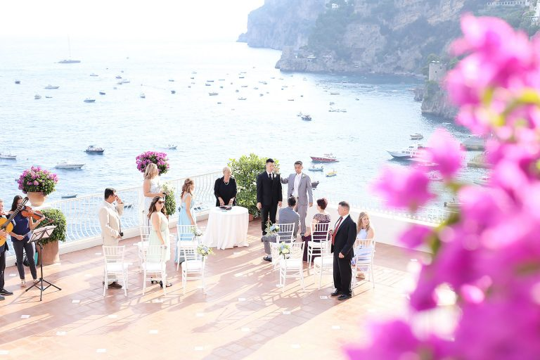 Luxury Destination Marincanto Wedding Photographer Positano Location Amalfi Coast Italy Shooting Wedding Positano Reception Claudia Francese Photography Sisters
