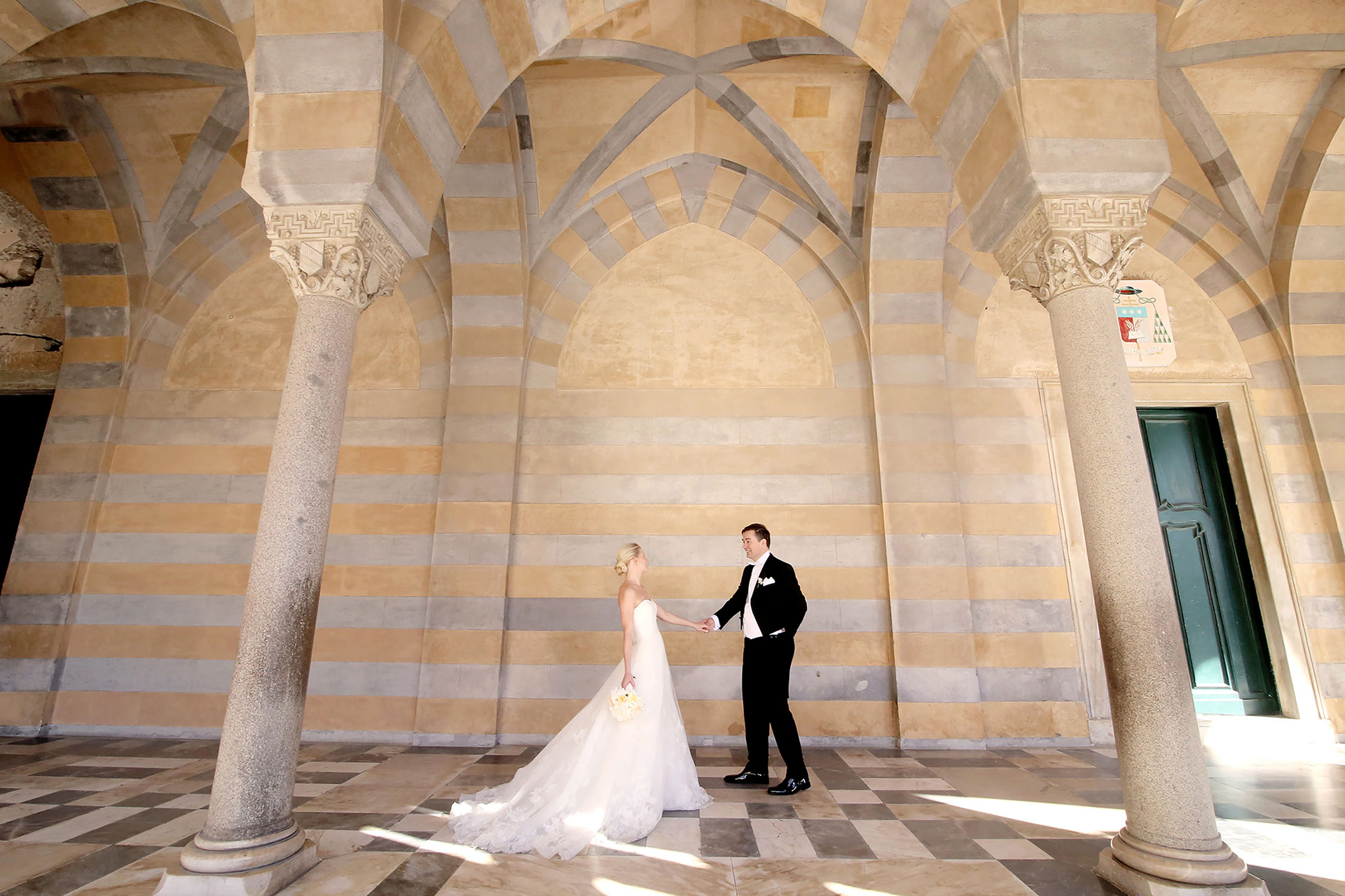 Luxury Destination Symbolic Protestant Vows Jewish Wedding Villa Amalfi Private Coast Reception Venues Italy Claudia Francese Photography Sisters Planner Photographer
