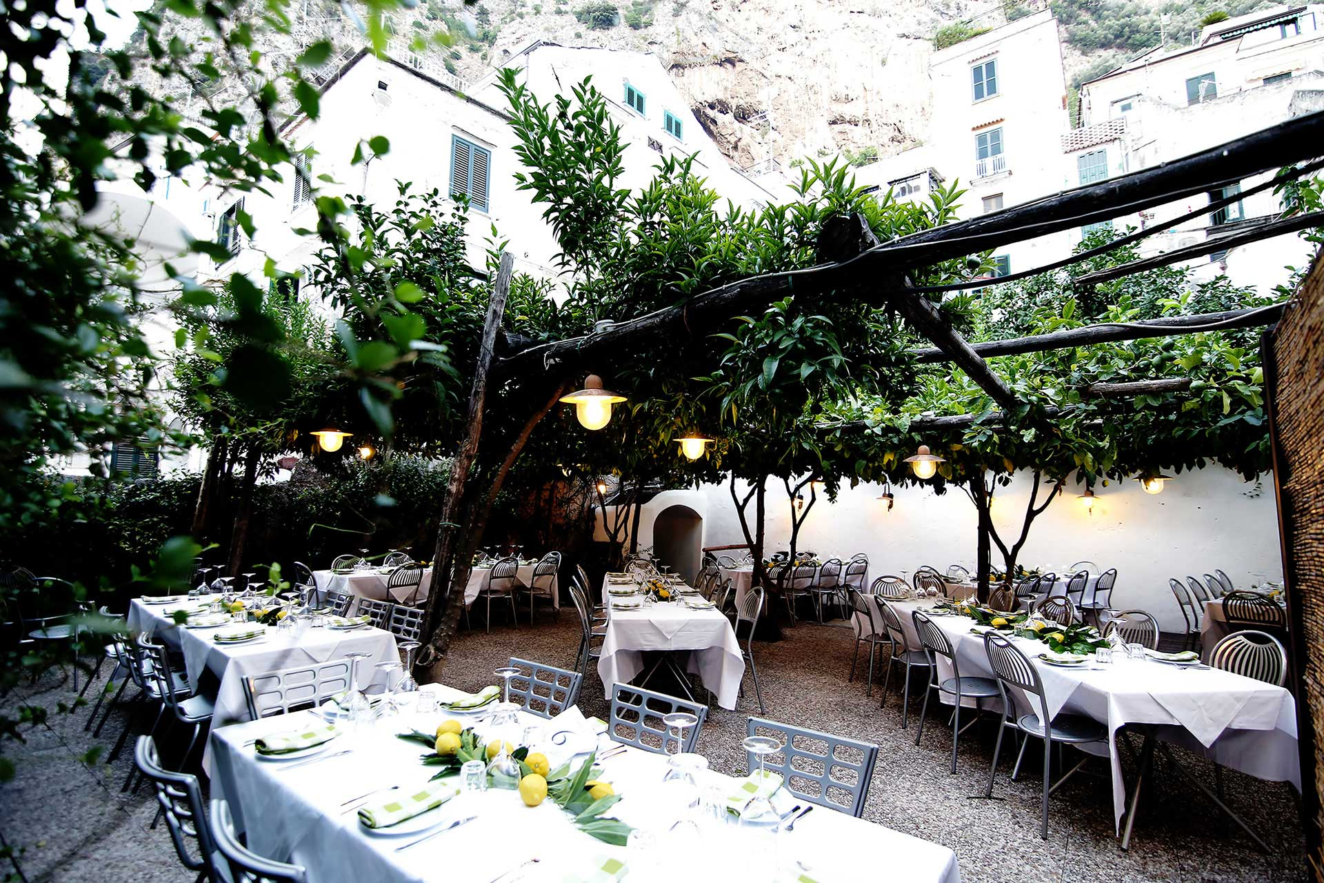 Rehearsal Dinner Pizza Party in Amalfi Coast by Francese Photography