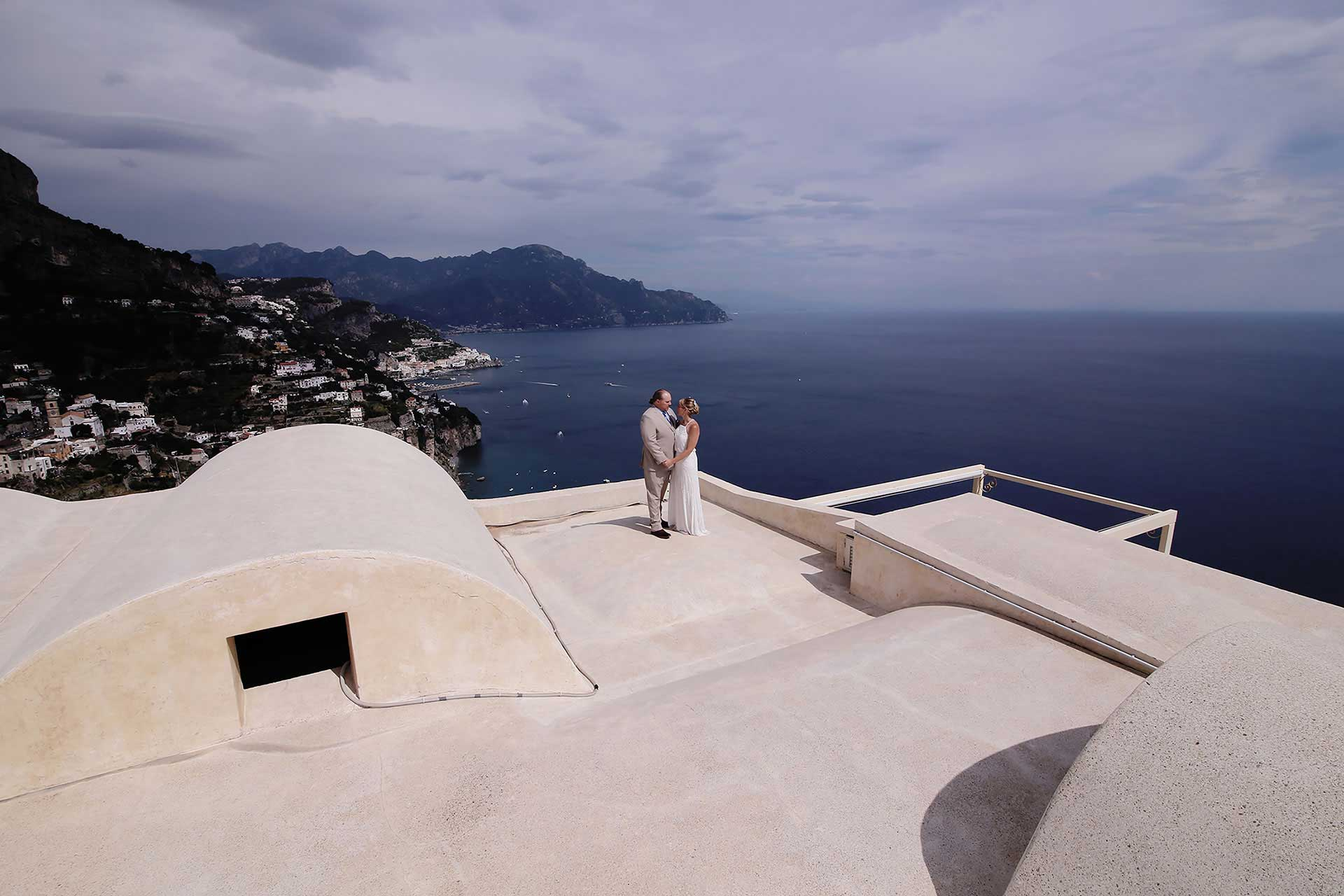Wedding in Amalfi Monastero Santarosa Civil Town Hall Positano Reception Hotel Five Stars Claudia Francese Photography