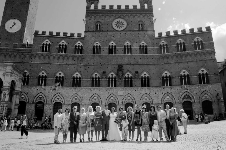 Wedding in Siena Tuscany Private Villa Civil Wedding Town Hall by Francese Photography