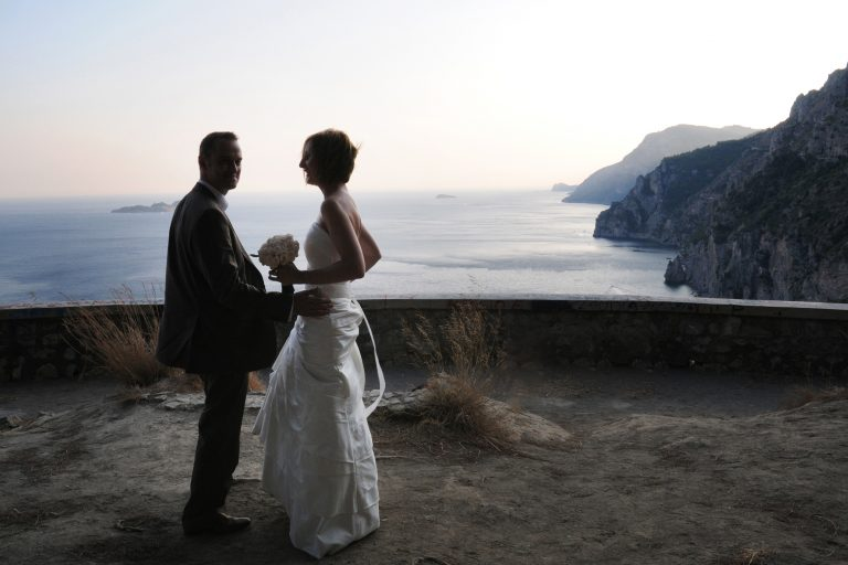 Catholic Wedding Positano Amalfi Coast Syrenuse Sorrento Coast Best Photographer Claudia Francese Photography Sisters